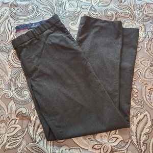 Cremieux 34x30 Dark Charcoal Mens Dress Pants